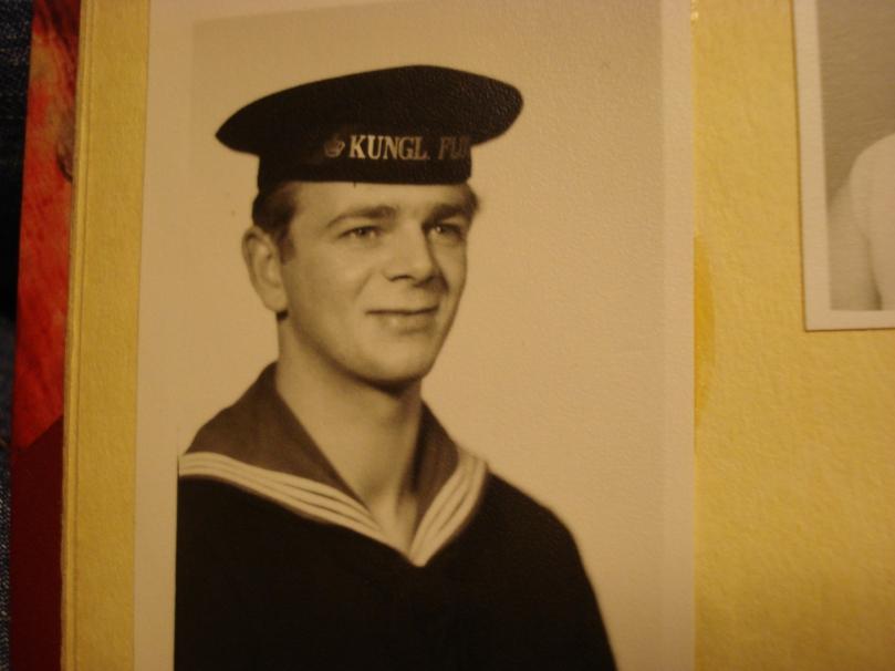 min farbror som ung