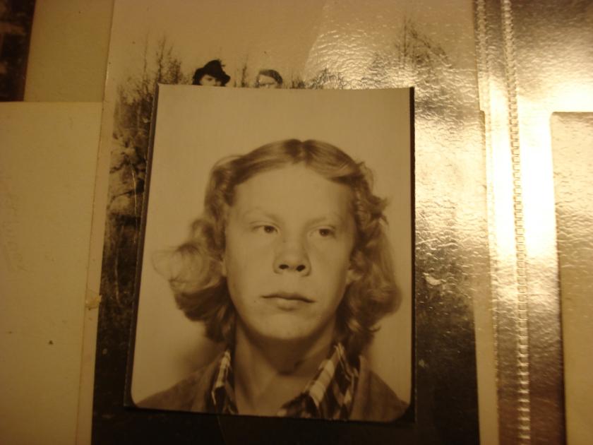 min morbror som ung