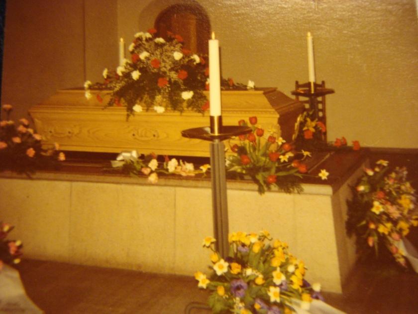 farmors begravning