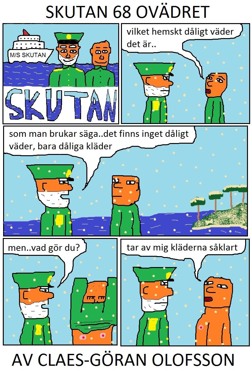 SKUTAN 68 OVÄDRET