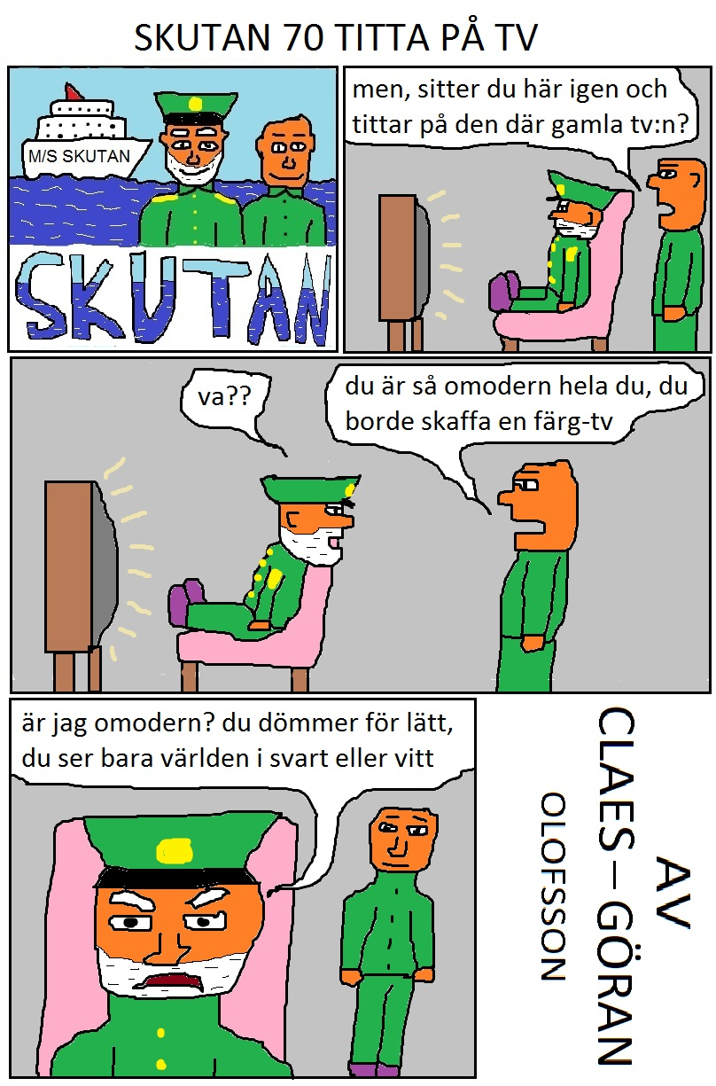 SKUTAN 70 TITTA PÅ TV