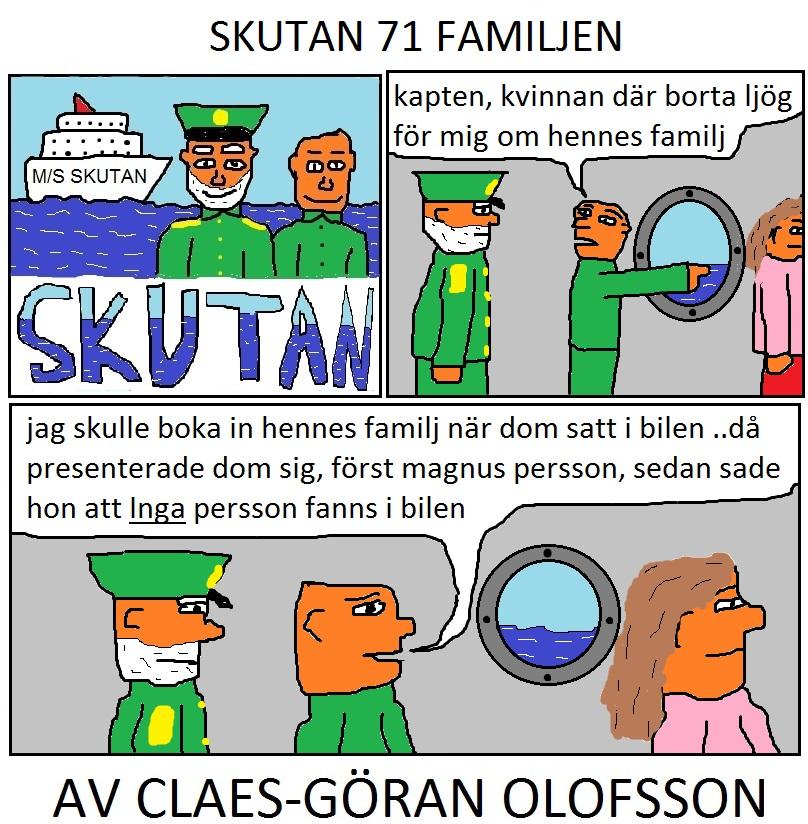 SKUTAN 71 FAMILJEN