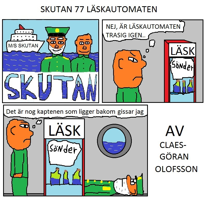 SKUTAN 77 LÄSKAUTOMATEN