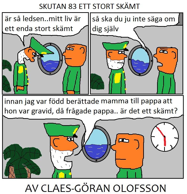 SKUTAN 83 ETT STORT SKÄMT