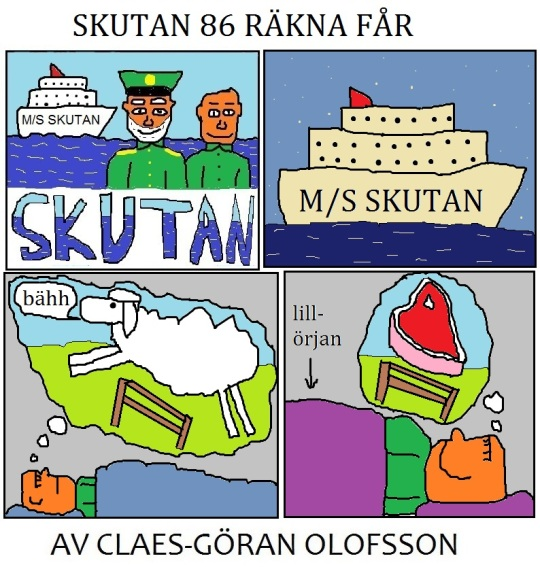 skutan 86 COUNT SHEEPS