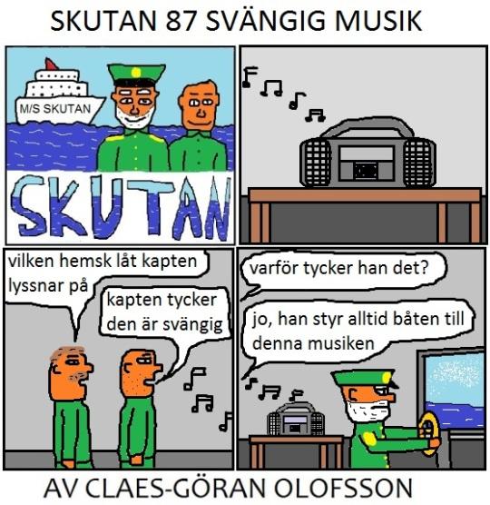 SKUTAN 87 SVÄNGIG MUSIK