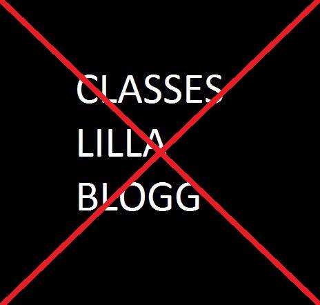 vi som hatar classes lilla blogg