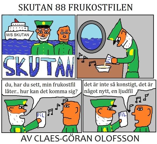 SKUTAN 88 FRUKOSTFILEN