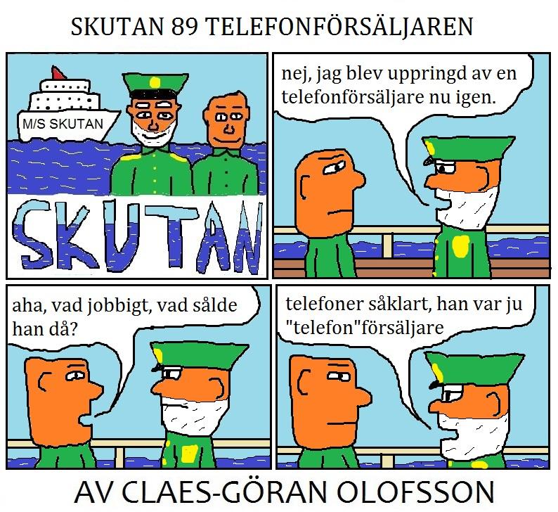 SKUTAN 89 TELEFONFÖRSÄLJAREN