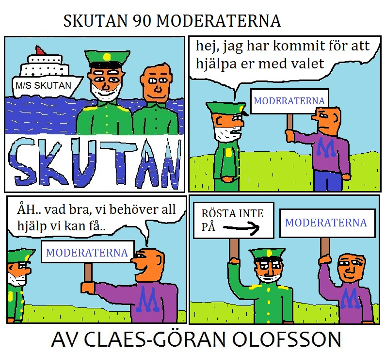 SKUTAN 90 MODERATERNA