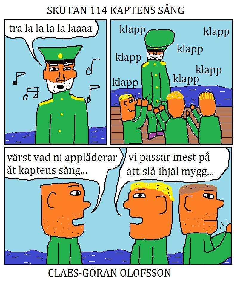 skutan 114 kaptens sång
